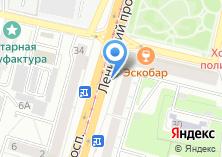 Компания «АКВАФОРМ» на карте