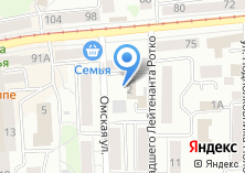 Компания «Бизнес Персонал» на карте