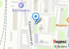 Компания «FastBox» на карте