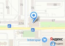 Компания «Милан, сеть мебельных салонов» на карте