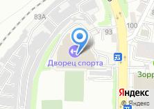 Компания «Дворец спорта Трудовые резервы» на карте