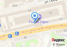Компания «Петербург» на карте
