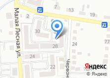 Компания «Строящийся жилой дом по ул. Червонная» на карте