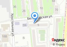 Компания «Автостоянка на Белгородской» на карте