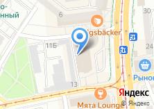 Компания «Евросеть» на карте