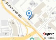 Компания «Гараж+» на карте
