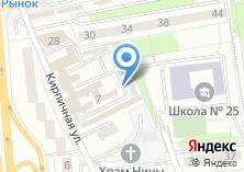 Компания «На Кирпичной» на карте