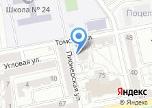 Компания «Газпром Межрегионгаз Санкт-Петербург» на карте