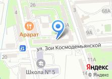 Компания «Большая стирка» на карте