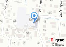 Компания «СДЮСШОР по футболу греко-римской борьбе» на карте