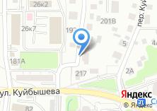 Компания «Моя работа» на карте
