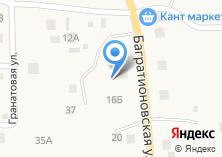 Компания «Продуктовый магазин на Багратионовской» на карте