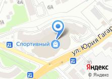 Компания «ТОНУС-КЛУБ на Гагарина» на карте
