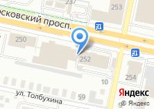 Компания «Ауди Сервис Калининград» на карте