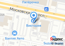 Компания «Хонда на Московском» на карте