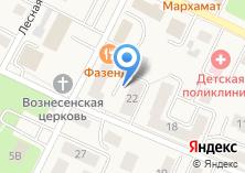 Компания «ИНВЕСТСТРОЙ» на карте