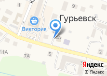 Компания «Центр занятости населения г. Гурьевска» на карте