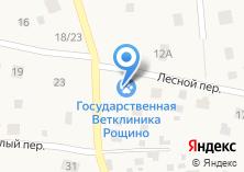 Компания «Ветеринарная клиника по ул. Лесная (Рощино)» на карте