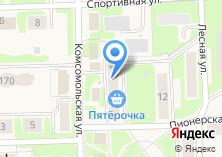 Компания «Магазин посуды и хозтоваров» на карте