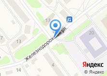 Компания «Магазин продуктов на Железнодорожной» на карте