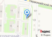 Компания «Микрорайон Солнечный» на карте
