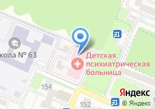 Компания «Брянская областная психиатрическая больница №1» на карте