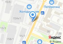 Компания «Мебельный дом» на карте