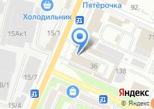 Компания «Кондитерский мир» на карте
