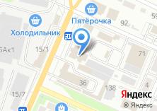 Компания «Сенсор» на карте