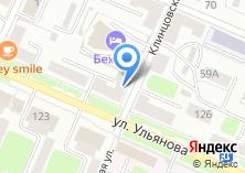 Компания «Бежицкий городской отдел доставки пенсий и пособий» на карте