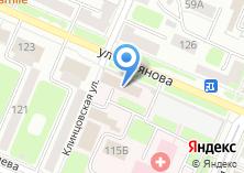 Компания «Брянская городская детская больница №1» на карте