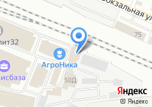 Компания «АгроНика» на карте