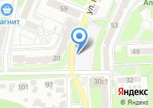 Компания «Автостоянка на ул. 22 Съезда КПСС» на карте