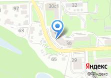 Компания «Клауда» на карте