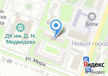 Компания «Брянская городская поликлиника №7» на карте