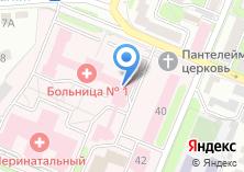 Компания «Брянская городская больница №1» на карте