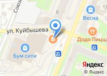 Компания «Строящееся административное здание по ул. 3 Интернационала» на карте