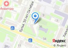 Компания «МОНАР» на карте