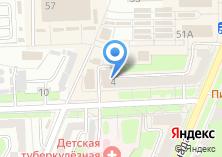 Компания «Модистка» на карте