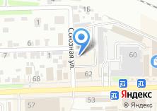 Компания «Делэкс» на карте