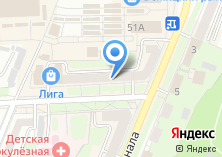 Компания «Ваш офис» на карте