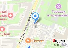 Компания «Пятисотка» на карте
