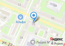 Компания «Русские окна» на карте