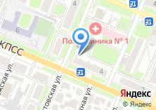 Компания «Брянская городская стоматологическая поликлиника №1» на карте
