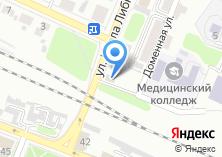 Компания «Продуктовый магазин на ул. Карла Либкнехта» на карте