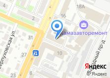 Компания «Профцентр» на карте