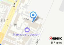 Компания «Томбстоун» на карте