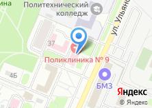 Компания «Брянская городская поликлиника №9» на карте