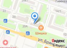 Компания «ТехноMIX» на карте
