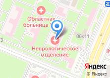 Компания «Брянская областная больница №1» на карте